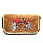 Dompet kulit kayu papua 1 resleting