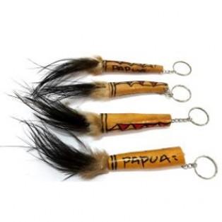 Gantungan Kunci Koteka Papua