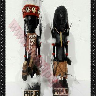 patung papua