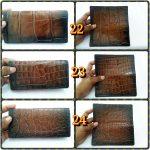 dompet pasport kulit buaya merauke