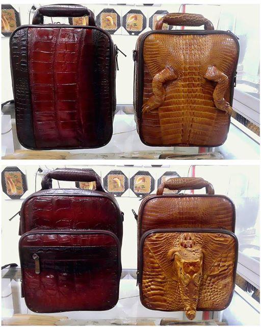 Tas komando kulit buaya - Lio Art Papua c24abe7a1b